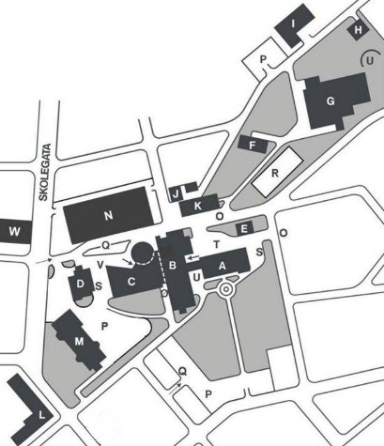 Map Of Campus Ala 2014